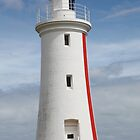 Devonport Light House, Tasmania by clara33art