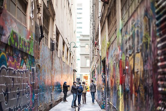 Melbourne Street Art by Megan Gardner