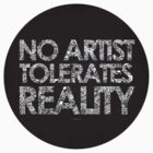 Reality Tee by James McKenzie