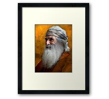 everybody must get stoned Framed Print