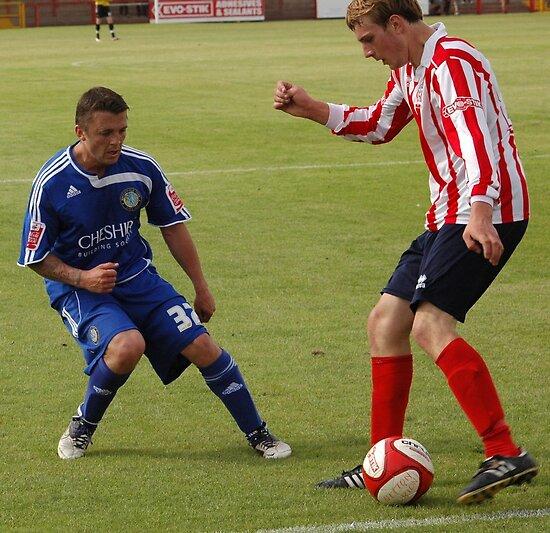 Witton Albion v Macclesfield Town by Matt Eagles