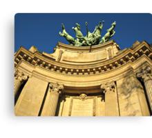 Paris detail of Grand Palais Canvas Print