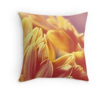 Gently Burning Throw Pillow