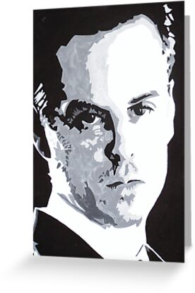 Jim Moriarty Painting by Beth Lewis