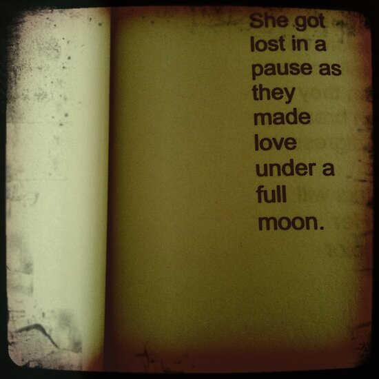 Full Moon, She Got Lost by SheSmiles