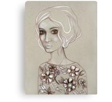 Flowers I Keep Canvas Print