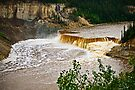 Louise Falls on the Hay River by Yukondick