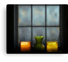 Window at Dawn.. Canvas Print