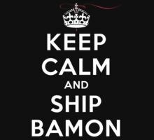 Keep Calm and SHIP Bamon (Vampire Diaries) DS by rachaelroyalty
