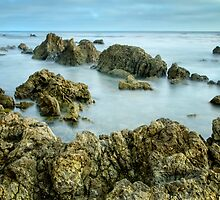 Rock Wall by jswolfphoto