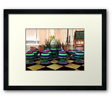 Colour Squadron at the Ready Framed Print