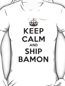 Keep Calm and SHIP Bamon (Vampire Diaries) LS T-Shirt