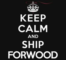 Keep Calm and SHIP Forwood (Vampire Diaries) DS by rachaelroyalty