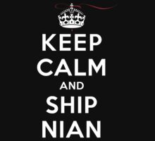 Keep Calm and SHIP Nian (Vampire Diaries) DS by rachaelroyalty