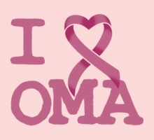 I Heart OMA - Breast Cancer Awareness by rachaelroyalty