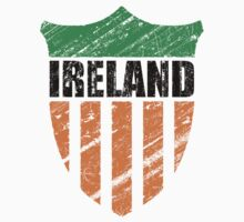 Vintage Ireland Emblem by perkinsdesigns