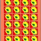Sunflower Pattern by djs42s