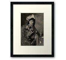 Portrait... Once Upon A Time Framed Print