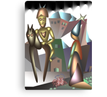 Don Quixote soul Canvas Print