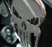 Melting Skull Biker day North Shields by Jackie Wilson