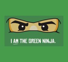 I am the Green Ninja by notebookstudio