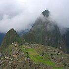 Mystical Machu Picchu by charlienelson