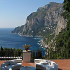 Island Capri - A Nice Terrace View by kirilart
