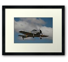 CAC Winjeel Climb-out, Tyabb Airshow 2012 Framed Print