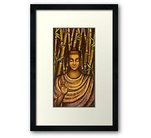 Stillness speaks. Framed Print