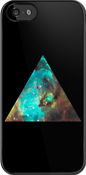 Green Galaxy Triangle by rapplatt