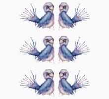 Watercolour Bird by KerryLiddell