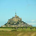 Mont St Michel in France by Callie Smith