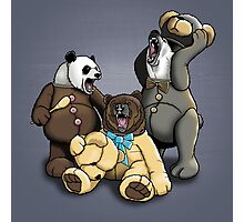 The Three Angry Bears Photographic Print