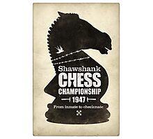 Shawshank Chess Comp Photographic Print