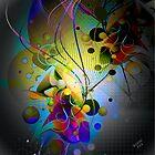 Abstract Modern Original Digital art by artonwear