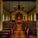 Inside the Old Norse Church (AKA St. Olaf's or The Old Rock Church) by Terence Russell