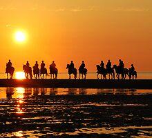Evening ride at sunset by Adri  Padmos