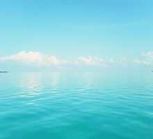 The Clear, Blue Sea by yaellevey
