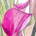 Pink Calla Lily by Esmee van Breugel