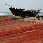 Fishing Nets, Goa, India by Christian Wilson