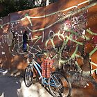 An East village bike by Eugenia Gorac