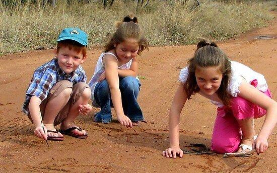 Grandchildren / Kleinkinders by Elizabeth Kendall