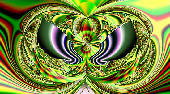f167 Beautiful Fractal by Dennis Melling