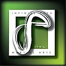 I.P.M.A. Logo - White by Robyn Scafone