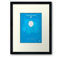 No134 My UP minimal movie poster Framed Print