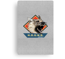 Project H.O.U.N.D. Canvas Print