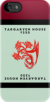 Monopoly - Targaryen House by amanoxford