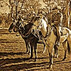 The Lighthorsemen (Sepia) by TonyCrehan