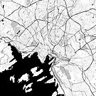 Oslo OpenStreetMap Poster by Traut1