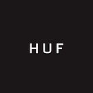Huf Logo iPhone Case by Marco Mitolo